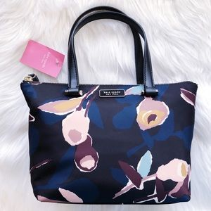 💜NWT Kate Spade Insulated Floral Tote